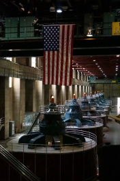 The Turbine Room - Flags are over 30' long!