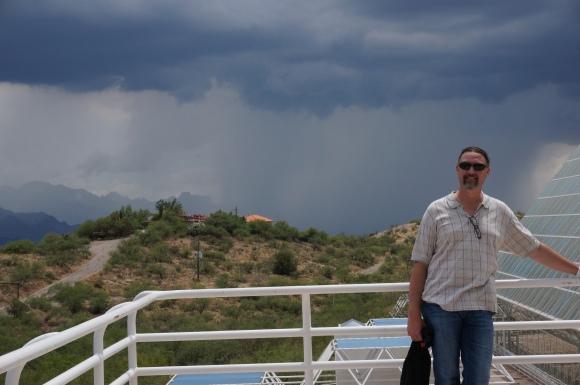 Summer Rain in AZ