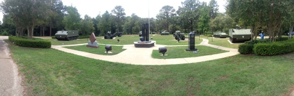 Panoramic of the park - iPhone 4S - cool option