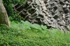 The rock face had some fun textures