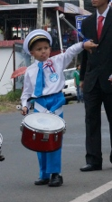 Even the little guys were totally into twirling their drumsticks :)