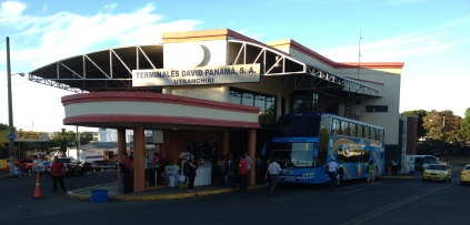 David Terminal and our bus