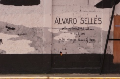 The artist, Álvaro Sellés. You can see more of his work on his Facebook page.