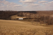 The Pennsylvania farming countryside is beautiful