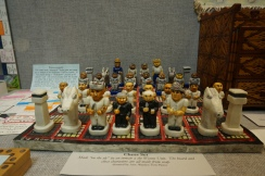 ...this chess set made from soap