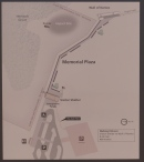 The map of Memorial Plaza