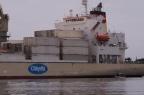 Chiquita has a dock right there in Almirante.